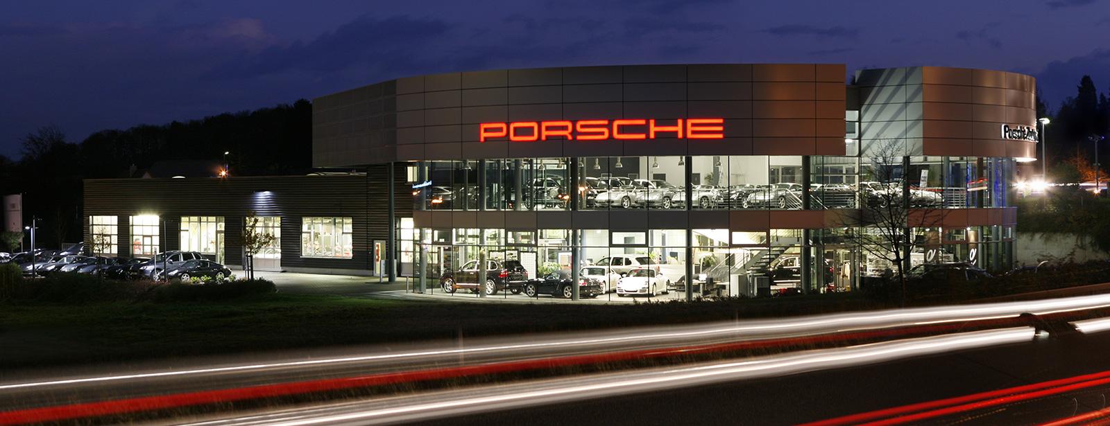 Le Centre Porsche de Pforzheim